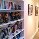 Bookcase in the Corridor